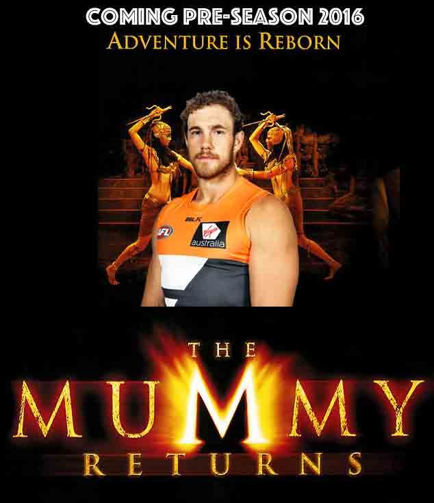 Looking forward to a pre-season for the big Mummy to return to the GIANTS line-up.
