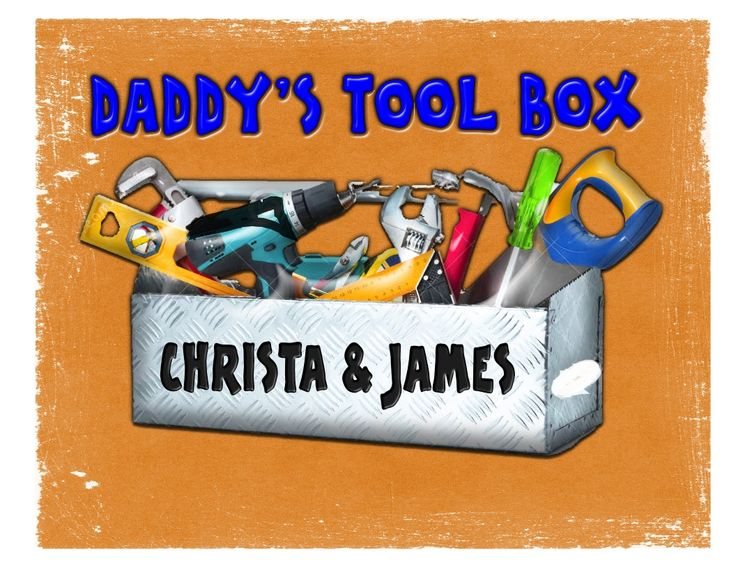 DADDY'S TOOLBOX TShirt for Papa, Grandpa, Dad, Names added Free Perfect for Him All sizes Personalized for Him tool Shirt For Men by DinosaurTshirts on Etsy