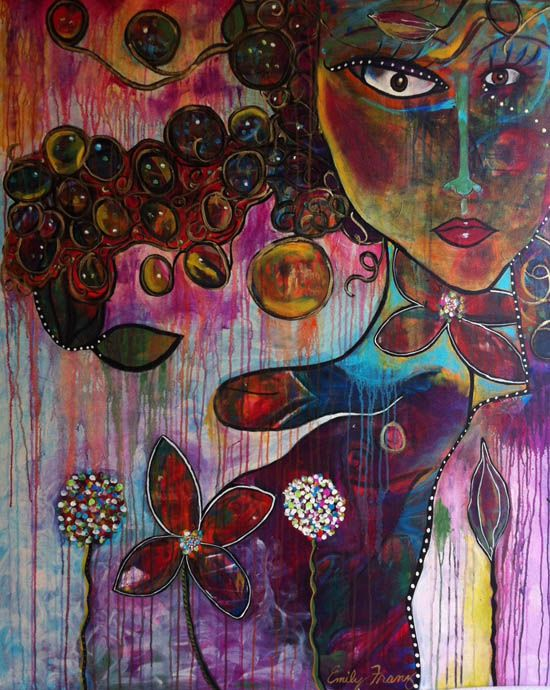 EmilyFranz_FINAL: Art Competitions, Artists Flora, Verdugo Bowley Odhi Lockhart, Arte Dibujos Garabatos, Crafting Art, Paintings, Bowley Flora, Flora Bowley, Bowley Fans
