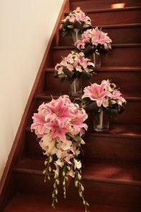lily stargazer bouquet