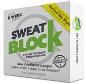 Antiperspirant | Stop Excessive Sweating With SweatBlock