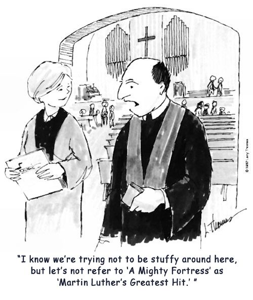 Martin Luther's Greatest Hit... #lutheran #humor