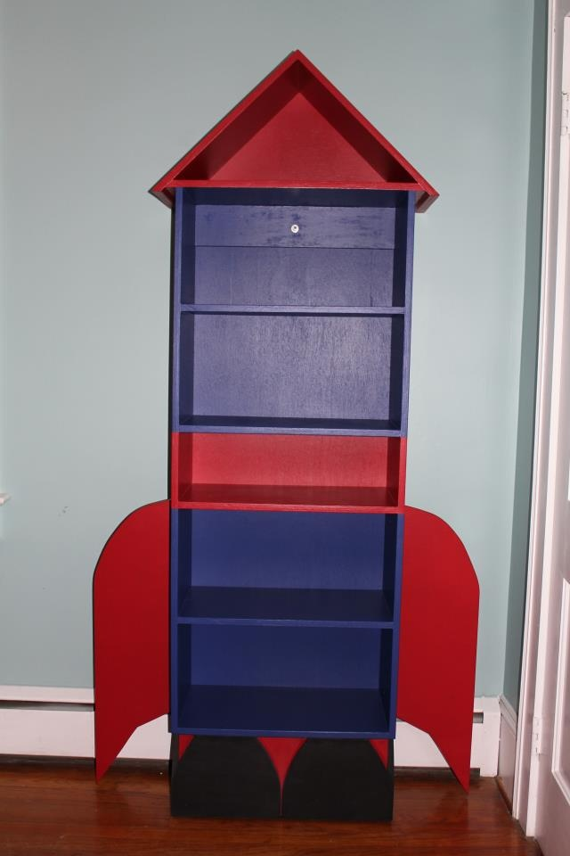 Rocket Ship Bookcase | Baby Coming Soon | Pinterest ...