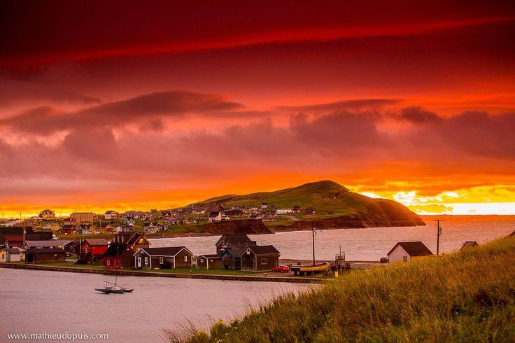 Amazing sunset after storm over La Grave, Iles de la Madeleine. | Photo: Mathieu Dupuis
