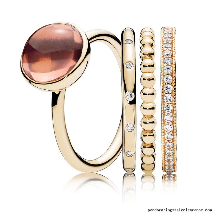 http://www.pandoraringssaleclearance.com/Pandora-rings-sale-clearance-Beautiful-Gold-Ring-Stack