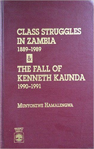 Munyonzwe Hamalengwa's study sets in some perspective the urban and industrial discontent that ultimately led to the defeat of the Kenneth Kaunda government in Zambia 1991. This seeming triumph of labor over the state bourgeoisie would not, however, signal the engagement of revolutionary socialist ideas. Rather , it won for capitalism a new lease life, free of the trammels of an inefficient parastatalism , and the self-serving humanist rhetoric of an acquisitive political elite.