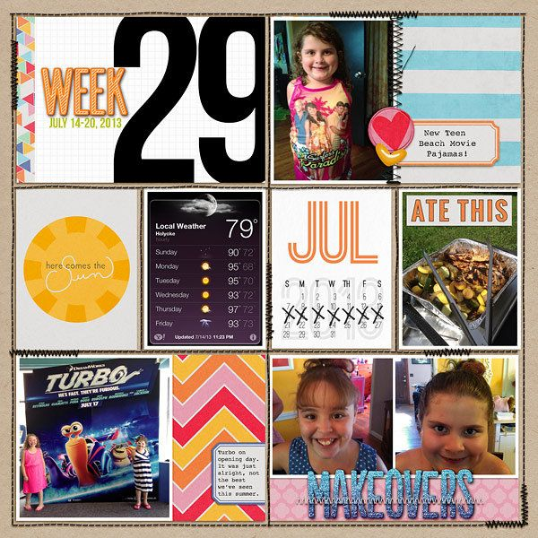 Week 29 Left - Scrapbook.com