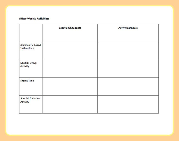 Best 25+ Lesson plan template doc ideas on Pinterest Lesson plan - sample lesson plan