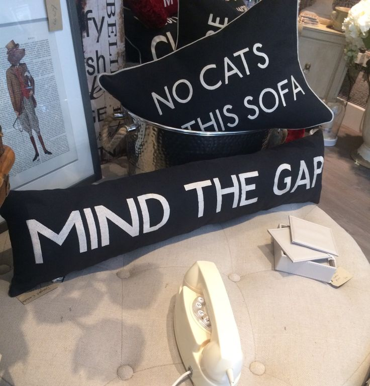 """Mind The Gap"" Draught Excluder"
