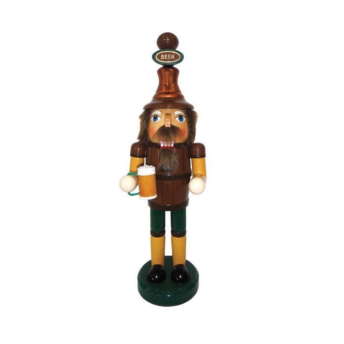 "Santa's Workshop 14"" Beer Meister Nutcracker & Reviews"