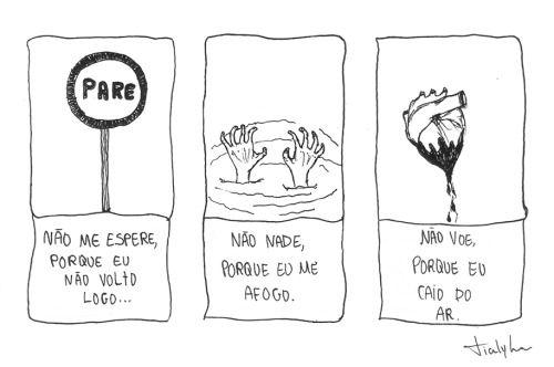 desenho ilustração rabisco mpb nanquim ilustrações a banda mais bonita da cidade leo fressato tialy lima canção para não voltar uyara torrente tialy nostálgica