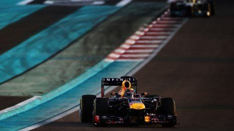 Vettel takes crushing Abu Dhabi win.   go doughnut man!!!!