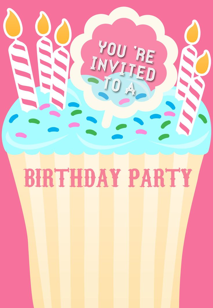 1000 ideas about free printable birthday invitations on