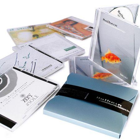 immagine packaging cd musicali. L'agenzia di grafica pubblicitaria di Treviso H&P  progetta il design grafico di packaging, scatole, confezioni, e astucci per imballaggi alimentari e di prodotti in genere.