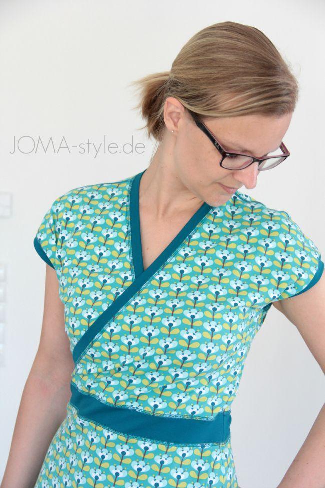 19 best Wickelkleid images on Pinterest | Women\'s wrap dresses, Wrap ...