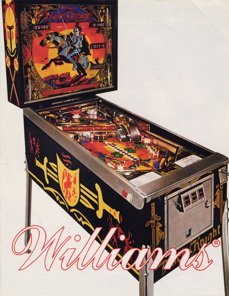Black Knight (1980 Williams) - Played at Special When Lit, Salisbury, UK