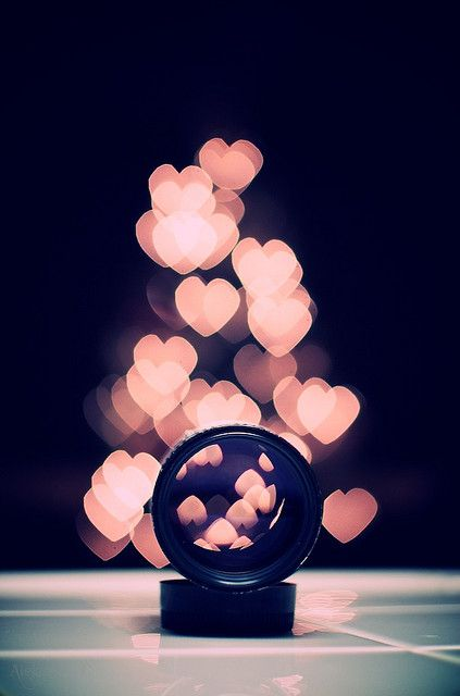 """This is a tutorial on how to get the cool camera effect known as """"bokeh."""" More specifically, this tutorial shows you how to get bokeh in heart-shapes with a do-it-yourself lens cut-out. (http://www.diyphotography.net/diy_create_your_own_bokeh).  -Nicole Niemiec"""