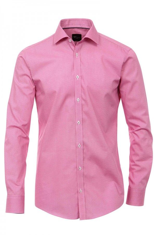 Print Muster | Venti Hemd pink weiß