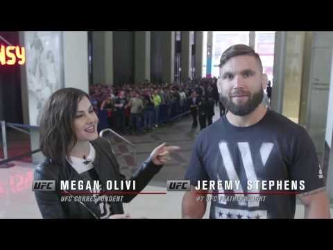 MMA UFC 205: Jeremy Stephens Gets All Access Tour of MSG