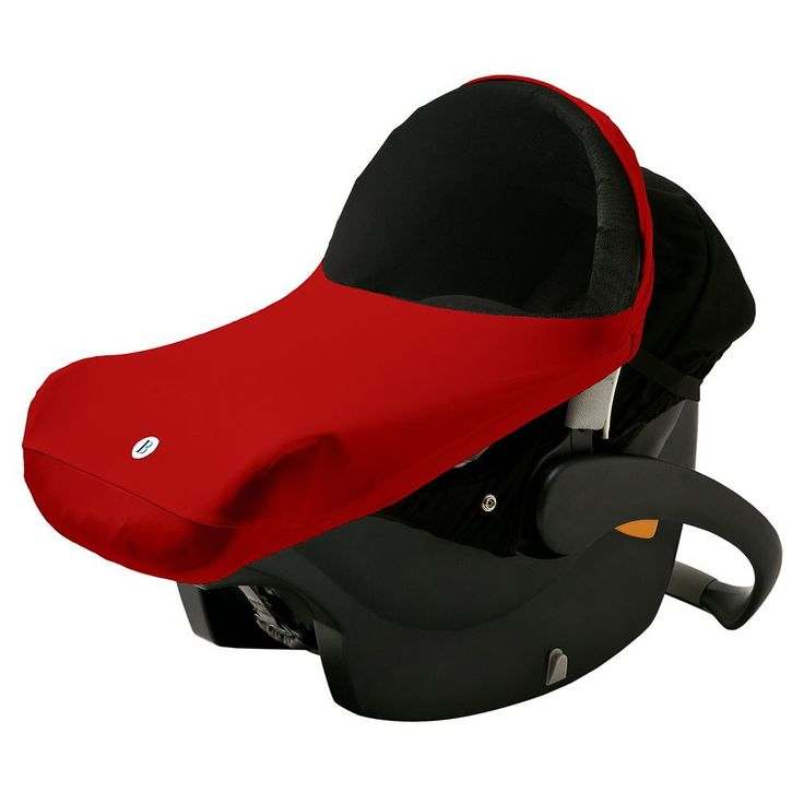 Imagine Baby The Shade Infant Car Seat Canopy, Red