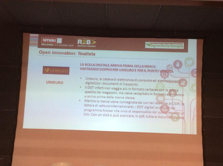 Progetto UNIEURO finalista al Premio Innovazione Digitale con Talea Consulting SMAU Bologna 04/06/2015