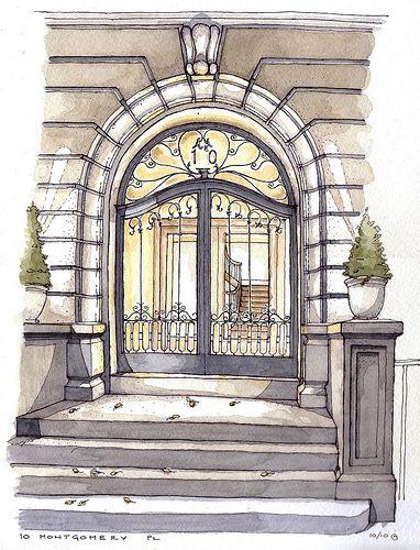 Les 91 meilleures images du tableau interiors watercolor for Hill james design d interieur
