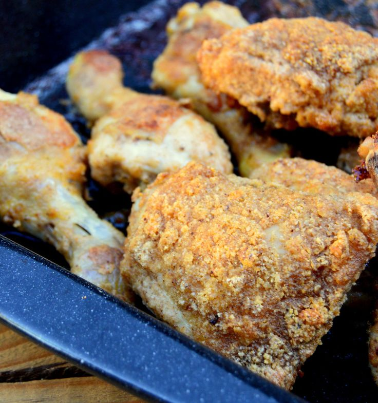 low carb oven baked KFC