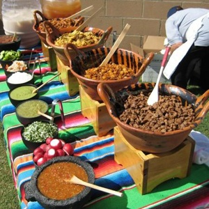 This is my inspiration for an amazing taco bar