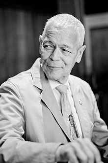 Julian Bond: Julian Bond was a NAACP chairman. He writes now about the history of the civil rights movement, and the condition of African Americans and the poor.