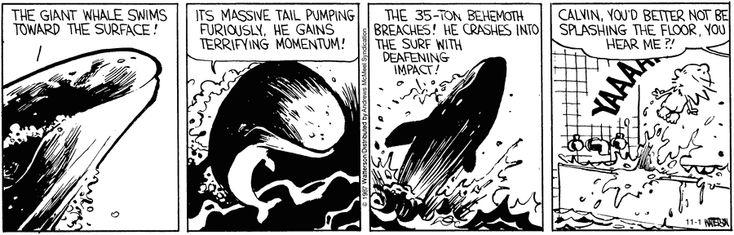 Calvin and Hobbes strip for November 1, 2017
