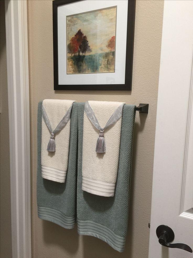 Best 25+ Bathroom towel display ideas on Pinterest | Towel ...
