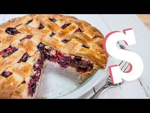 Sweet Cherry Pie Recipe - SORTED - YouTube
