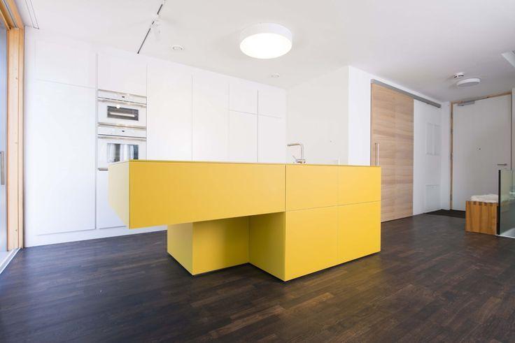 Inspiration: Diese Gelbe Design Küche Sorgt Für Gute Laune Beim Kochen |  Bunte Küche | Pinterest | Lofts