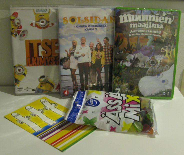 9/14 SY teema-arvo [elokuva&tv]: Itse ilkimys 2, Solsidanin kakkoskausi, Muumien maailma 7 ja Ässä mixejä.