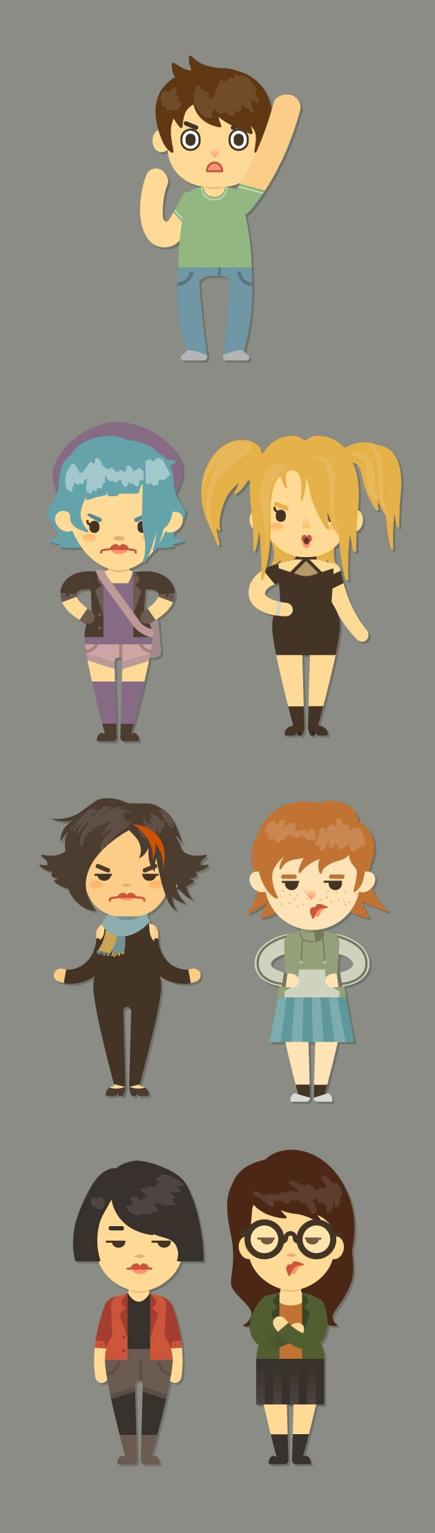 Cute cartoon character generator on behance