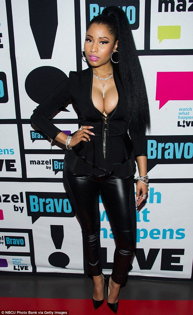 Get Nicki's Givenchy jacket from Selfridges #DailyMail