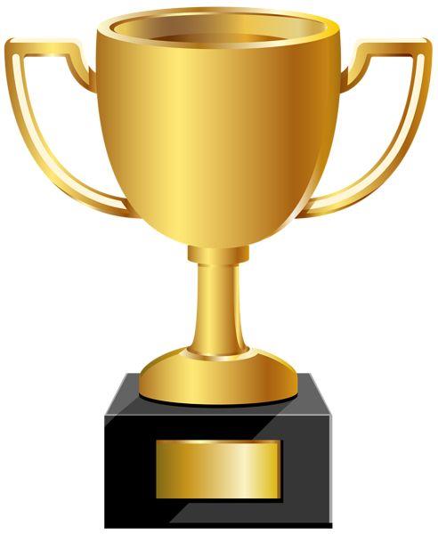 Golden Cup PNG Clip Art Image