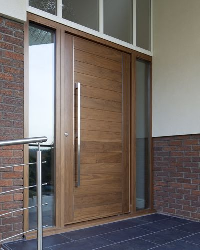 Urban Front - Contemporary front doors UK | finishes e-range | american black walnut