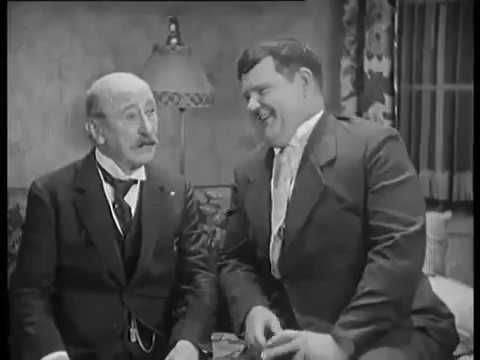 "Laurel & Hardy, in ""That's My Wife"" 1929"