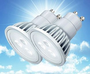 Expert Verdict LED Spot Bulbs, Non-dimmable, GU10 (2) An energy-saving alternative to traditional ceiling spots, these downlighters are fitted with LEDs which should last 30,000 hours. That's 30 times longer than an equivalent incandescent bulb – about 2 http://www.MightGet.com/january-2017-11/expert-verdict-led-spot-bulbs-non-dimmable-gu10-2-.asp