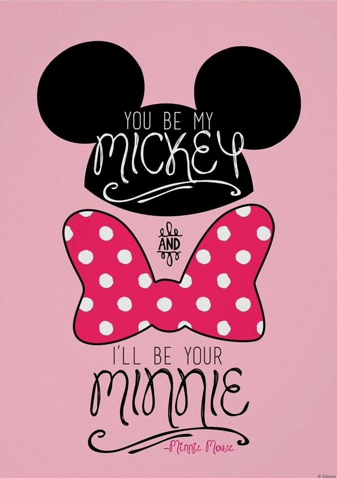 Mickey Minnie Mouse Mickey Mouse Wallpaper Mickey And Minnie Love Disney Wallpaper