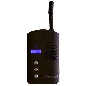 DaVinci Portable Digital Handheld Vaporizer - Black - Grasscity.com