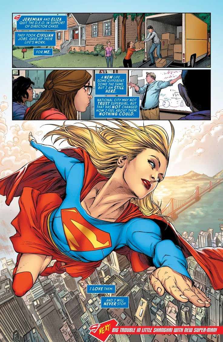Supergirl (2016) Issue #13 - Read Supergirl (2016) Issue #13 comic online in high quality