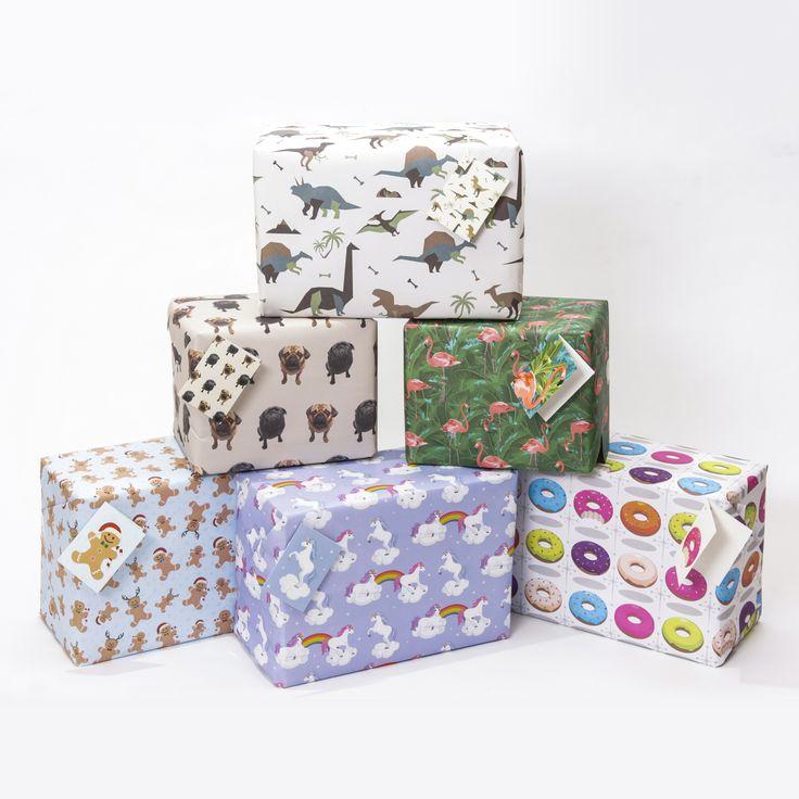 Balící papíry s originálními designy - abyste mohli váš skvělý dárek perfektně zabalit!  #dárek #giftwrap #vánoce #christmas #giftware