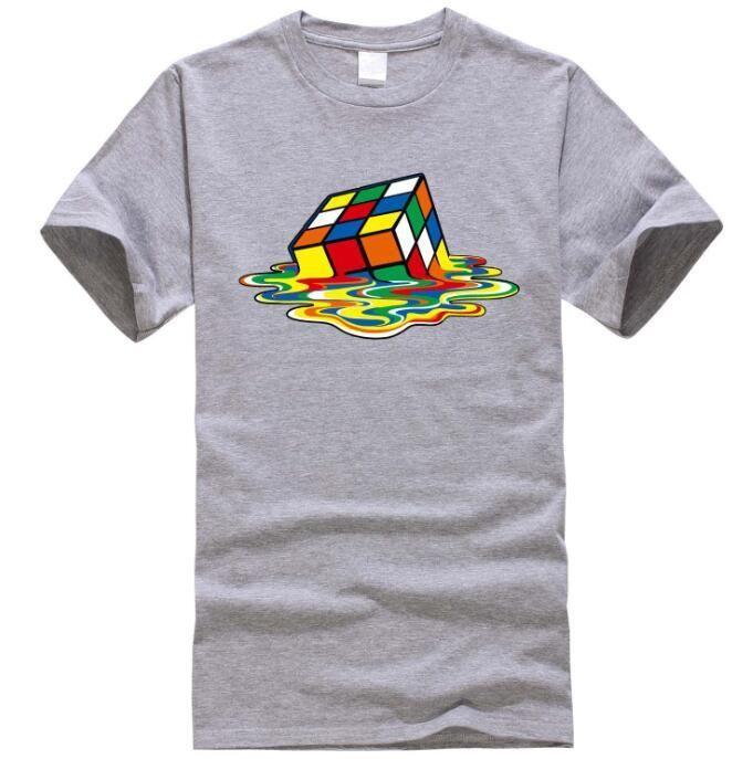 New Design The Big Bang theory T Shirt Men Magic Square T Shirts Short  sleeve Sheldon Cooper Men T-shirts Cotton Men Clothing de8c7ad92e1c