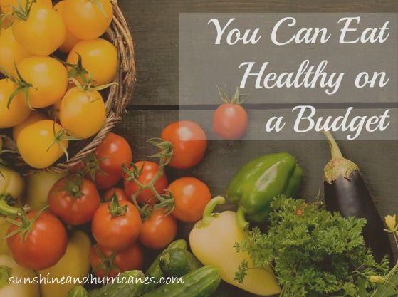 Mit kleinem Budget gesund essen – ja, das ist möglich   – MONEY $ | Tips and Tricks for Thrifty Living Group Board