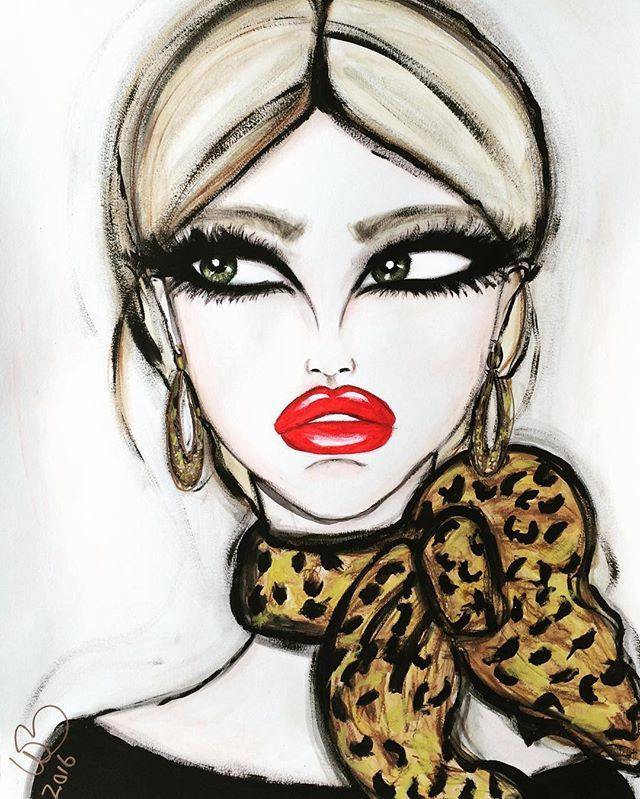 Wendy Buiter Ⓥ @wendybuiter Leopard & Red...Instagram photo | Websta (Webstagram)
