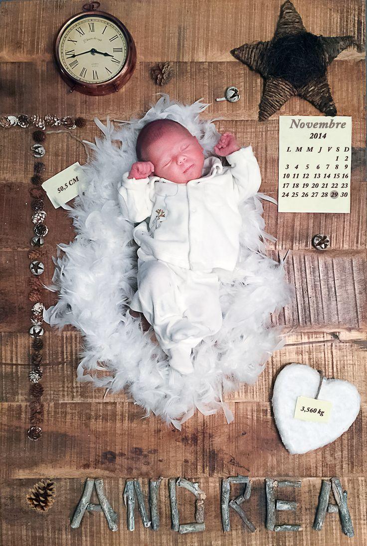 Notre faire part de naissance. Birth annoncement. Bébé. Baby.