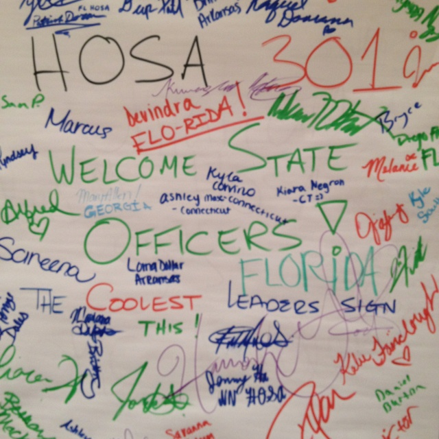 HOSA STAT 301 Cool State Officers Health professionals
