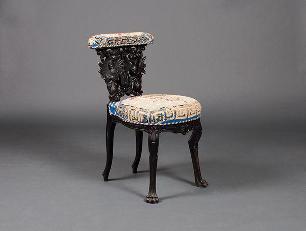 1000 images about si ges sur pinterest baroque chaises en bambou et design - Dessus de chaise en bois ...